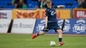 Sandnes Ulf - Viking. Sámuel Fridjónsson. Foto: Tore Fjermestad