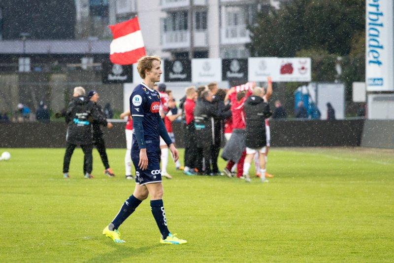 (2018) Viljar Vevatne må konstatere at det heller ikke denne gang var mulig å slå Bryne. Foto: Sander Selsvik Jacobsen