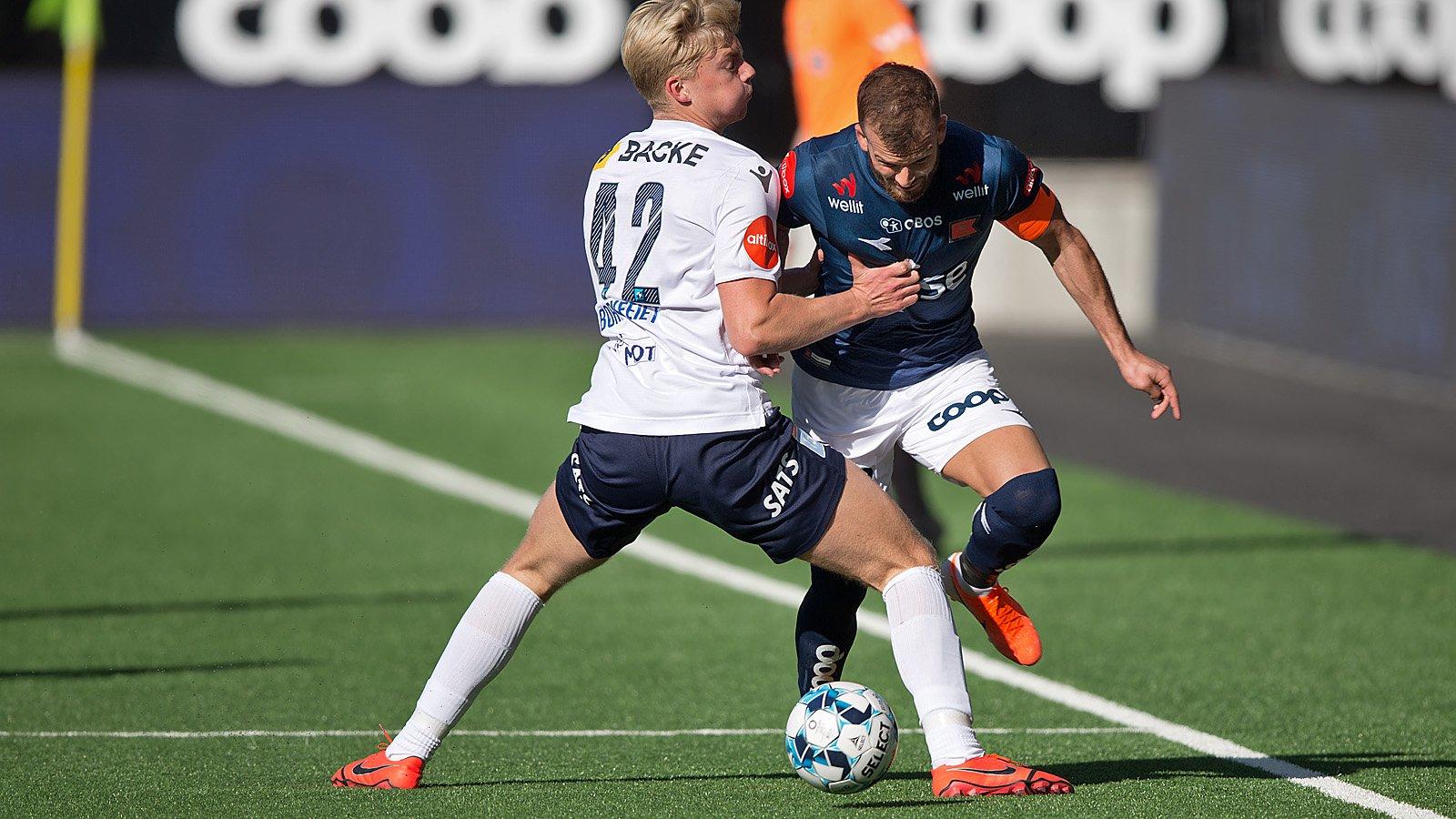 Før kampen: Stabæk - Viking / Viking
