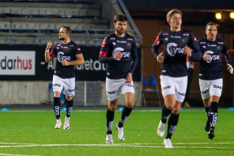 Veton Berisha satte inn sitt tolvte mål for sesongen. Foto: Carina Johansen / NTB