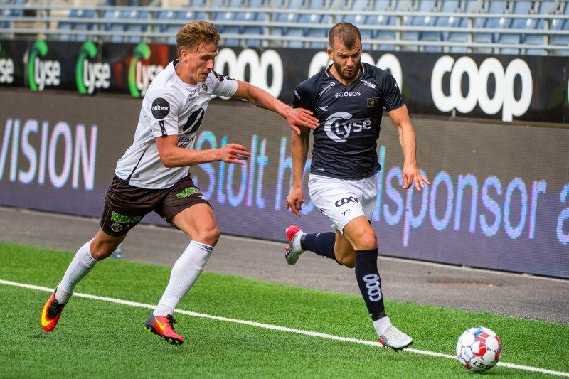 Sebastian Sebulonsens tid i Mjøndalen er over. Nå kommer han hjem. Foto: Carina Johansen / NTB