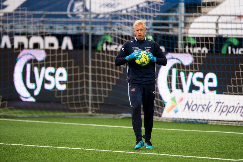 Forrige gang Arild Østbø spilte seriekamp for Viking var i august 2015, også det mot Odd.Foto: Carina Johansen / NTB scanpix