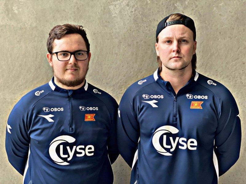 Chris-André Skogland og Sondre Voktor er klare for ny sesong!