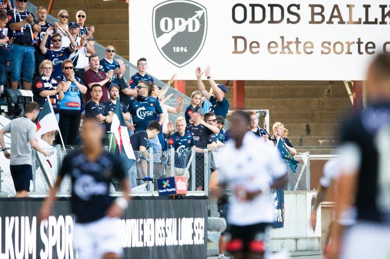 Takk for den suverene støtten🙏 Foto: Trond Reidar Teigen / NTB