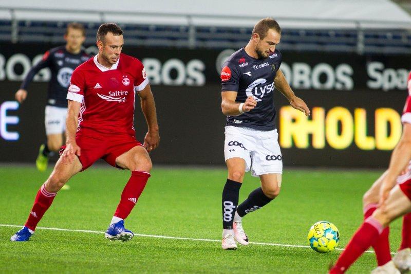 Veton Berisha hadde noen muligheter, men ballen ville ikke i mål denne kvelden. Foto: Carina Johansen / NTB
