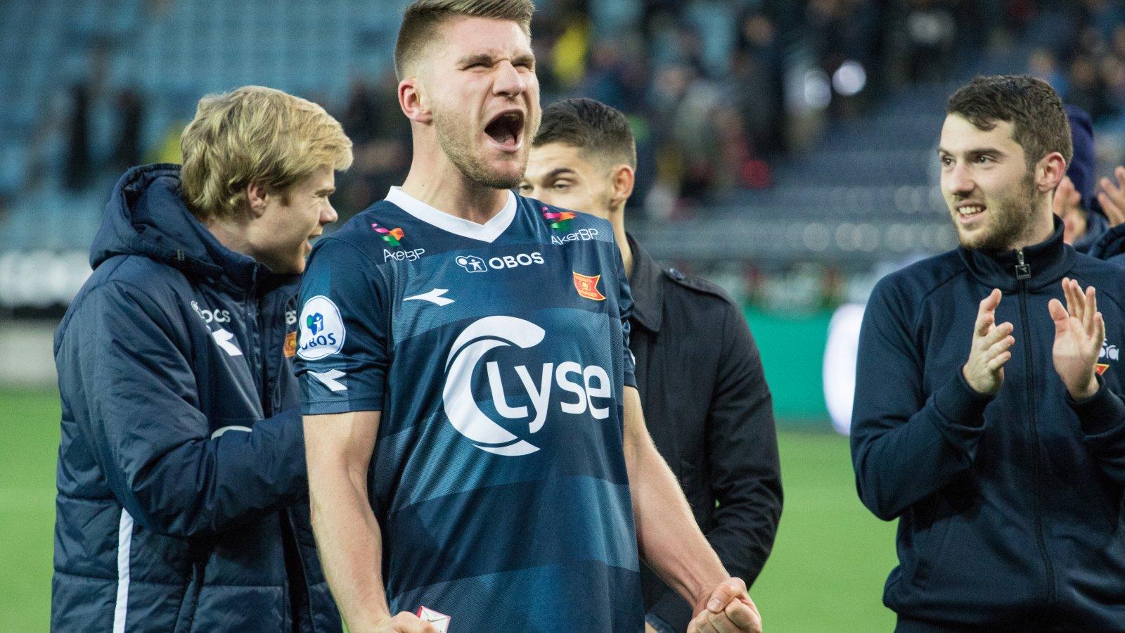 Viking - Ullensaker/Kisa, Axel Andrésson. Foto: Sander Selsvik Jacobsen